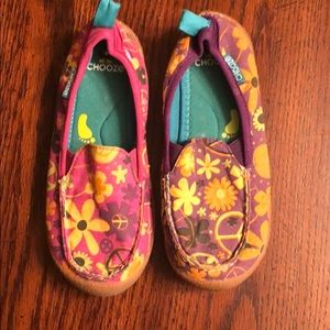 Girls choose brand shoes size 13